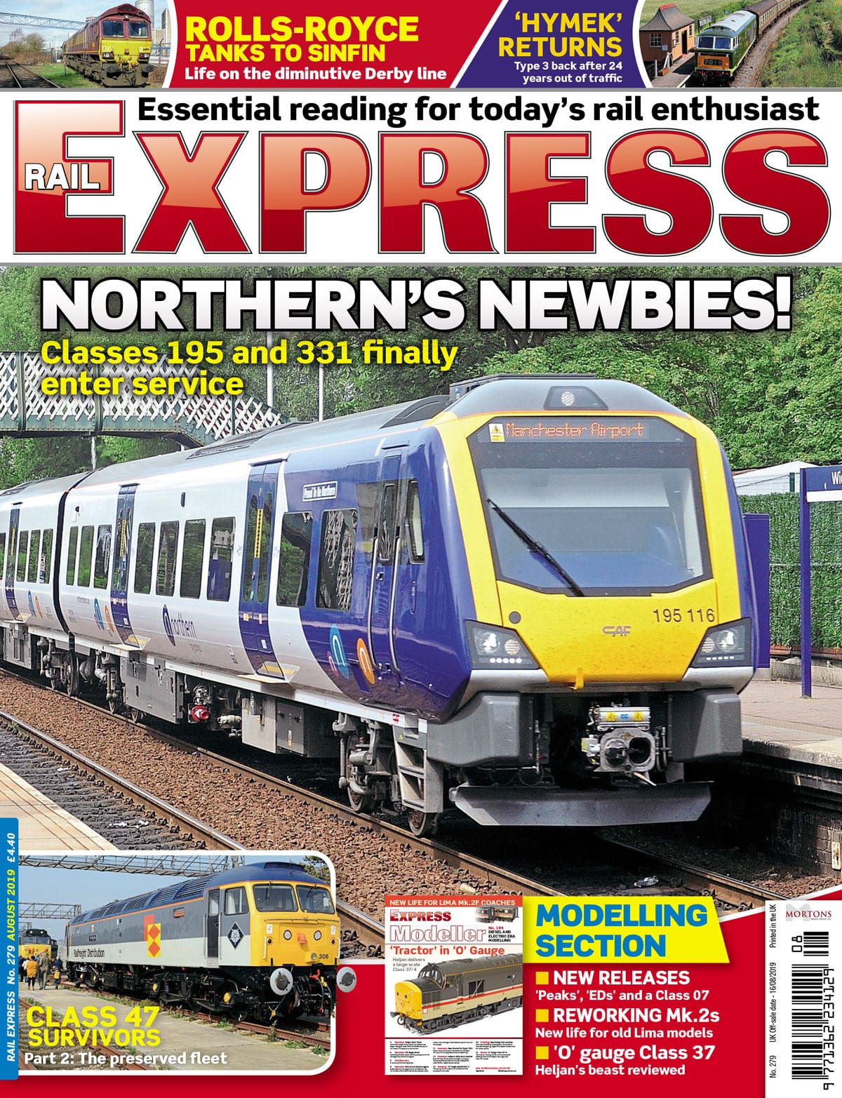 Rail Express August cover