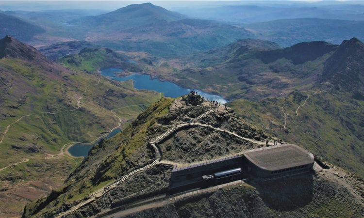 The Snowdon Mountain Railway was built between 1894 and 1896, a 14-month construction project carried out by just 150 men.