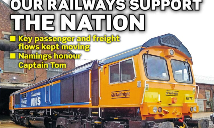 June issue of Rail Express