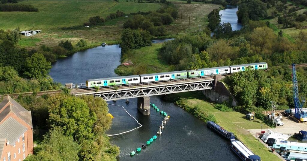 UK's first hydrogen-powered train makes mainline debut