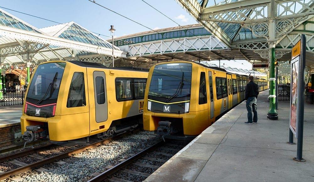 Tyne and Wear train fleet