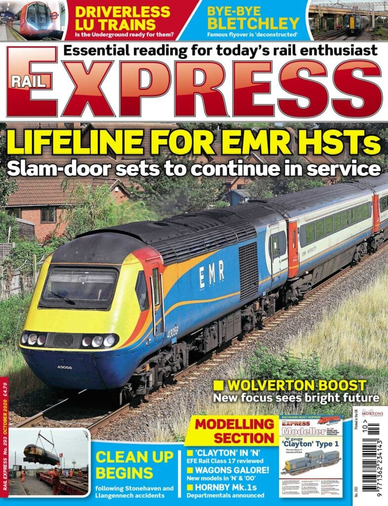 October edition of Rail Express