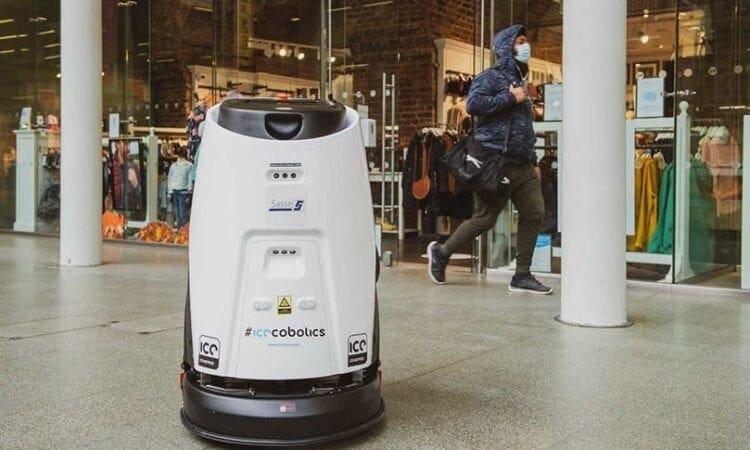 Covid-19-killing robots begin patrolling at St Pancras International