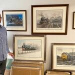 James Green GRA railway prints