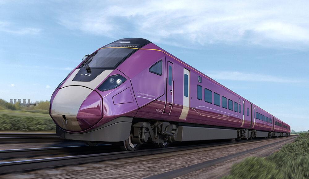 East Midlands Railway's new Intercity fleet named Aurora
