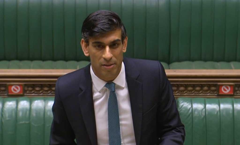 Rishi Sunak delivers the Spending Review
