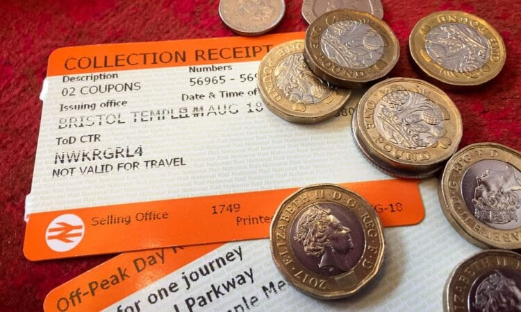 Rail fares rise above inflation