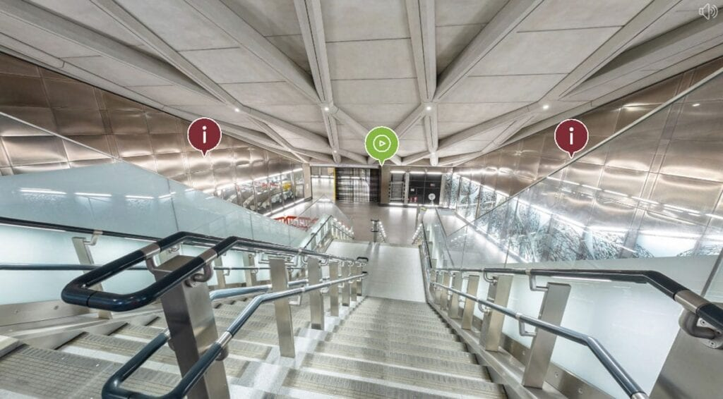 WATCH: 360-degree virtual tour of Farringdon Elizabeth line station