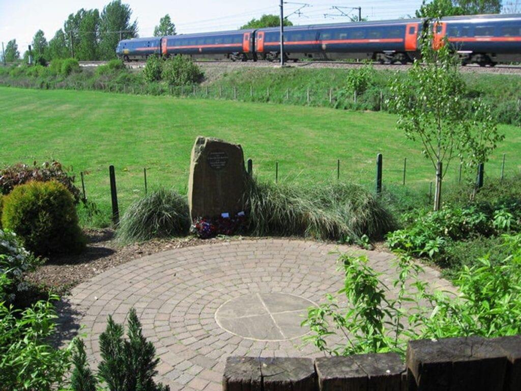 Great Heck train crash memorial