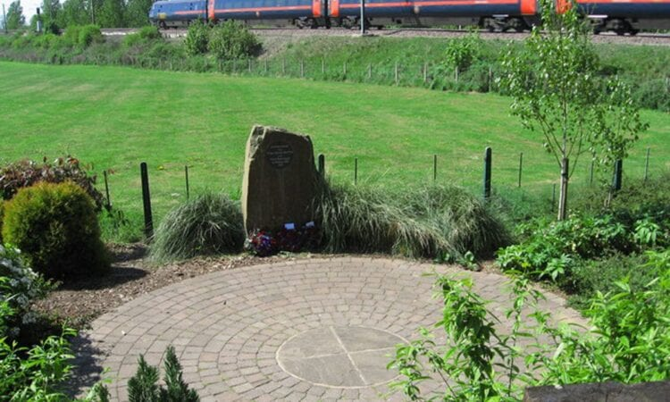 Great Heck train crash memorial